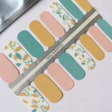 Load image into Gallery viewer, Buy Oh, Summer! Nail Polish Wraps at the lowest price in Singapore from NAILWRAP.CO. Worldwide Shipping. Instant designer nail art manicure in under 10 minutes.