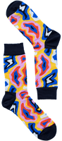 ColorSwirl Sock