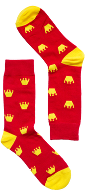 Royal Crown Sock