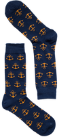 Anchors Away Sock