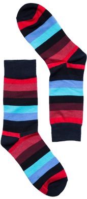 Hot Cold Striped Sock