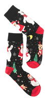 Christmas Night Sock