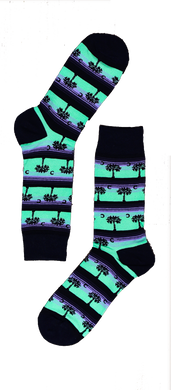 Palm Tree Sock