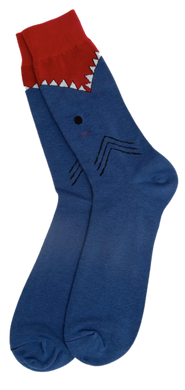 Shark Attack Sock