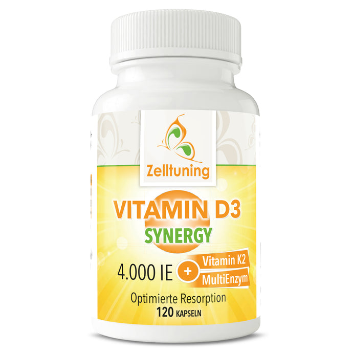 Vitamin D3 Synergy - 4.000IE + Vitamin K2