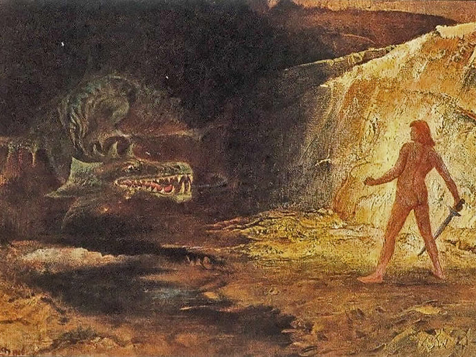 Sigurd and the Dragon (Andvari's Curse, Part III)