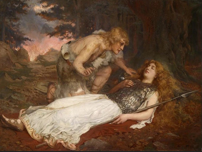 Regin's Death and Brynhild's Waking  (Andvari's Curse, Part V)