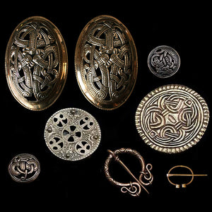 Bronze Viking Brooches