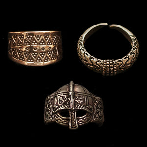 Bronze Viking Rings