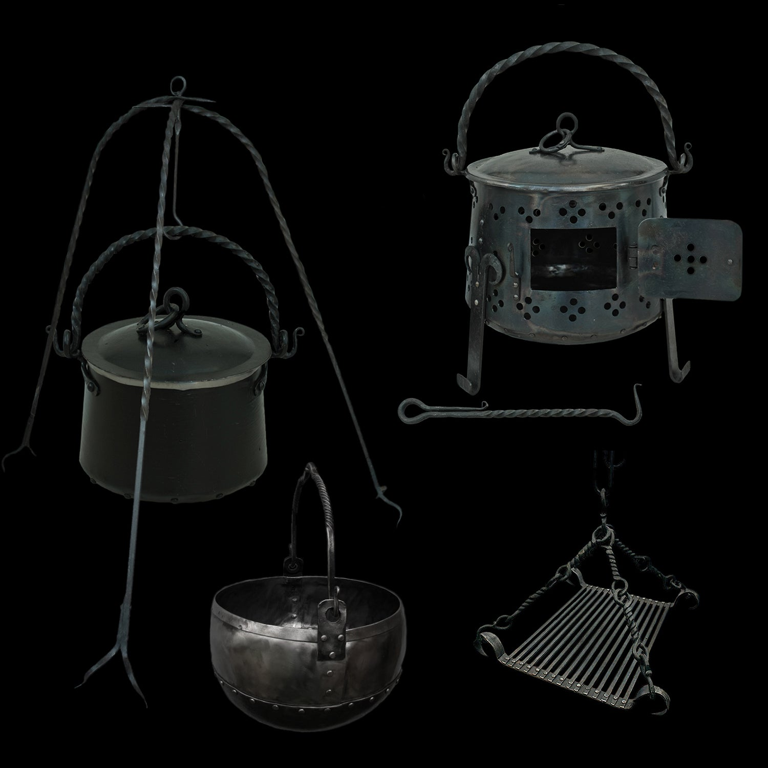 Camp Cooking Equipment