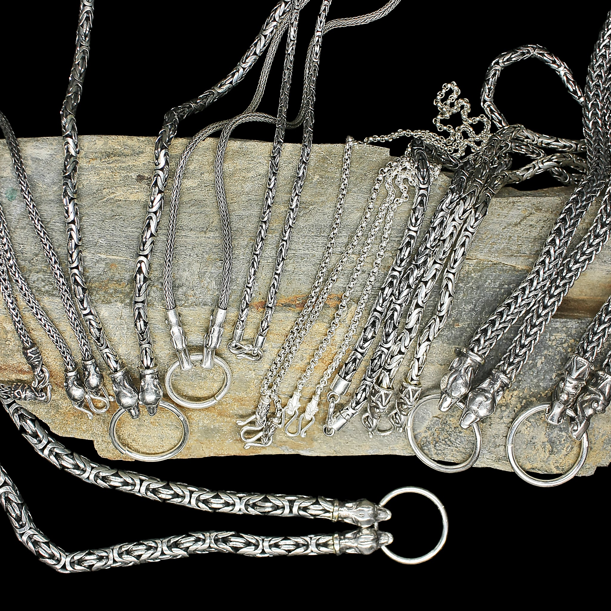 Silver Viking Necklaces