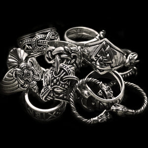 Silver Viking Rings