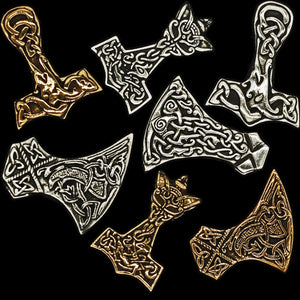 Pendants by Kai Uwe Faust of Heilung