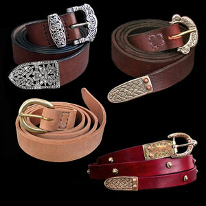 Leather Viking Belts