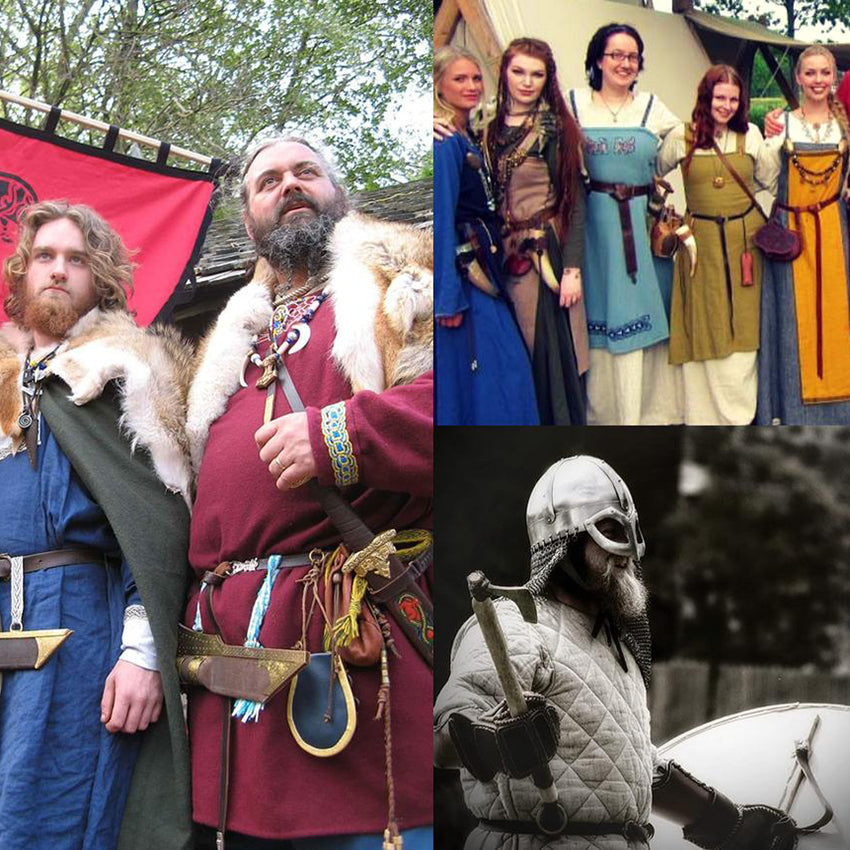 Viking Clothing for Viking Men and Viking Women