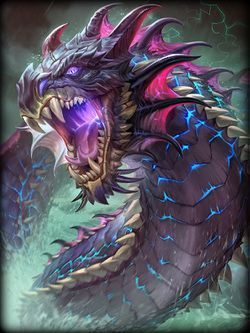 Jormungand, poised to strike, retrieved from https://gamepedia.cursecdn.com/smite_gamepedia/thumb/b/bb/SkinArt_Jormungandr_Default.jpg/250px-SkinArt_Jormungandr_Default.jpg?version=38a1a615e045f817807df7c2191ffec6--Viking Dragon Blogs