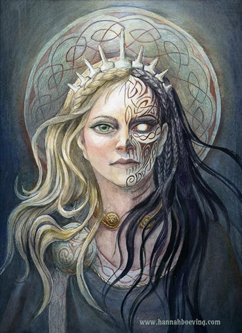 The Goddess Hel - Viking Dragon Blogs