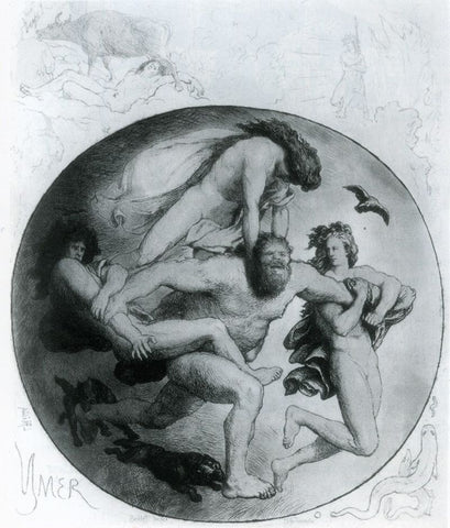 Ymir being killed by the gods: painting by Lorenz Frølich, retrieved from https://commons.wikimedia.org/wiki/Category:Ymir#/media/File:Ymir_gets_killed_by_Froelich.jpg--Viking Dragon Blogs