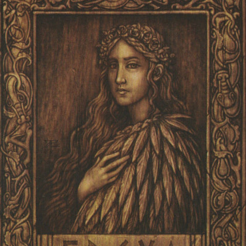 The Goddess Freya with her Falcon Coat - Viking Dragon Blogs