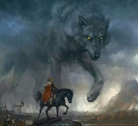 The Binding of the Wolf Fenrir - Viking Dragon Blogs
