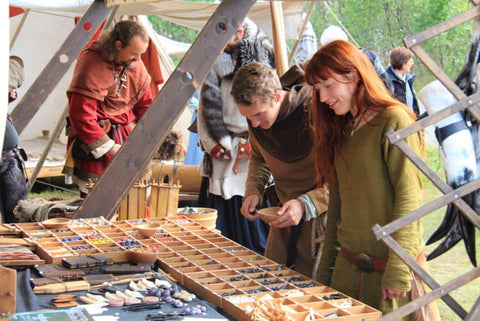 Shopping at Lofotr Viking Festival - Viking Dragon Blogs