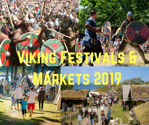 European Viking Festivals and Markets 2019