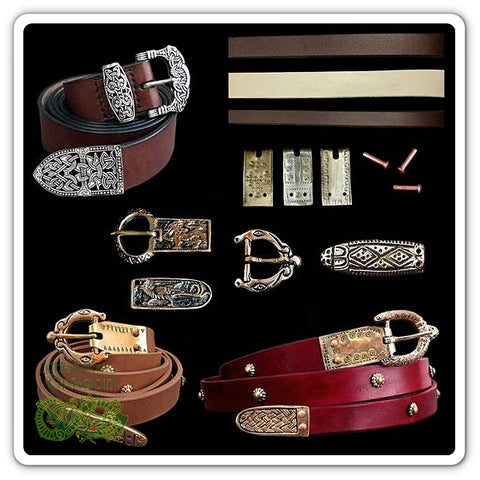 Replica Viking Belts & Belt Fittings From The Viking Dragon