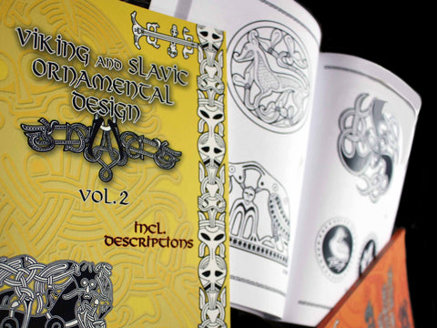 Viking Craft, Design & Clothing Pattern Books from the Viking Dragon