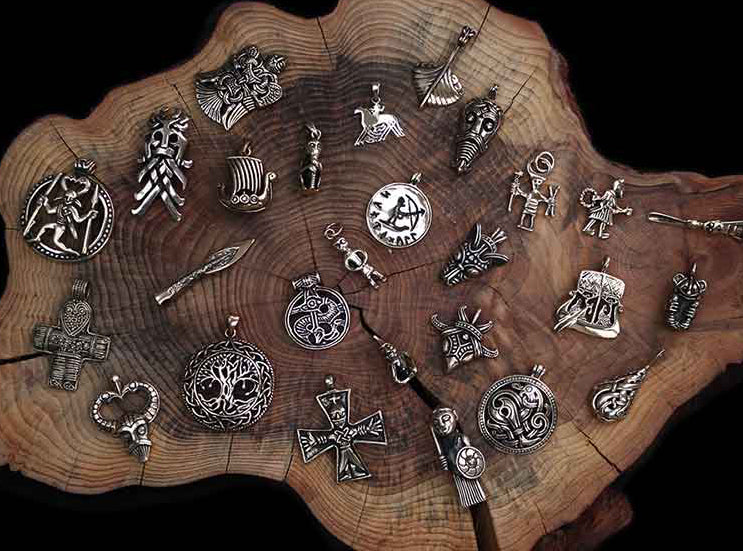 Bronze Viking Pendants - Viking Jewelry