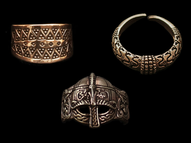 Bronze Viking Rings - Viking Jewelry