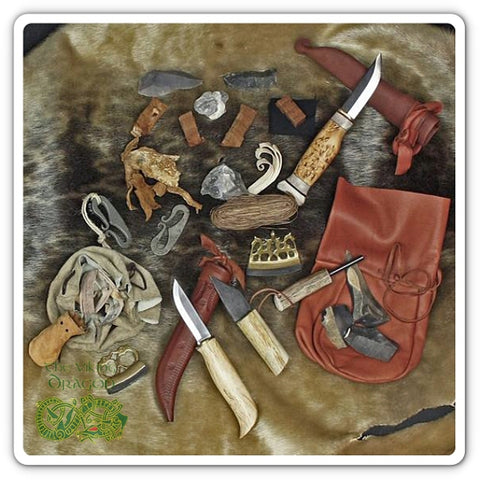 Viking Replica & Modern Camp Equipment Tools From The Viking Dragon