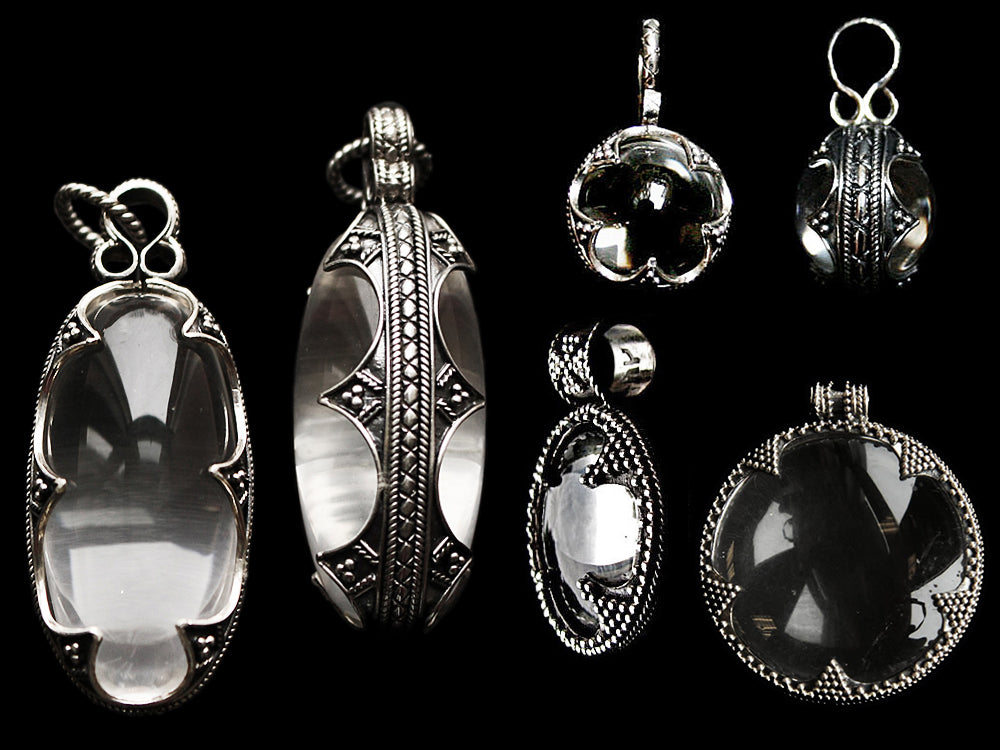 Crystal Viking Pendants - Viking Jewelry