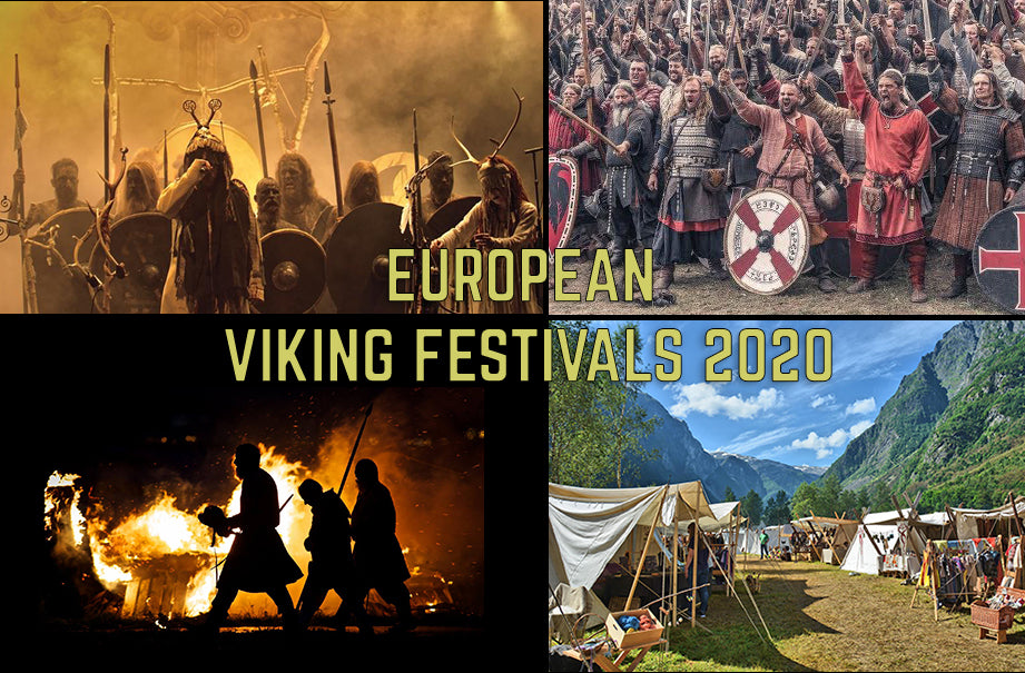 European Viking Festivals / Viking Markets 2020 - Viking Dragon