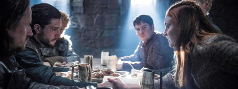 Game of Thrones Feasting Scene with out Horn Beer Mugs