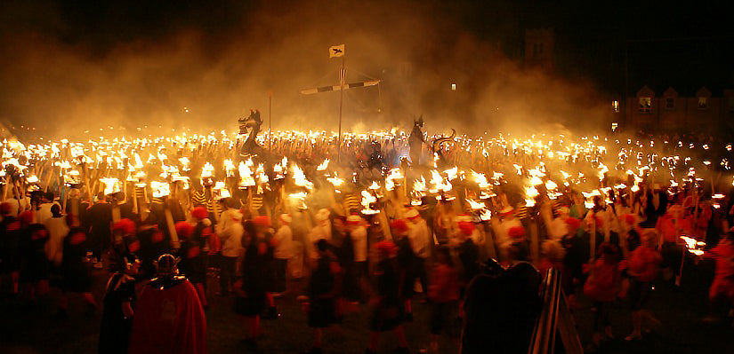 Up Helly Aa 2020 - Shetland Islands UK Viking Festival