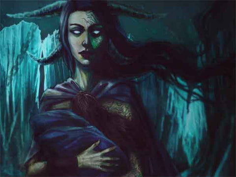 The Goddess Hel Guarding the Underworld - Viking Dragon Blogs