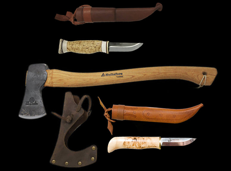 Hunting Knives, Hunting Axes - Viking Camp Equipment