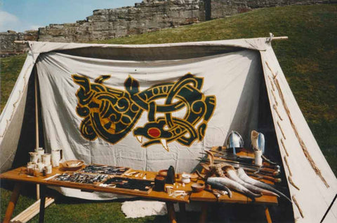The Jelling Dragon Stall back in the day