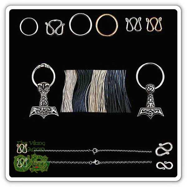 Viking Jewelry Clasps For All Your Necklaces & Bracelets From The Viking Dragon