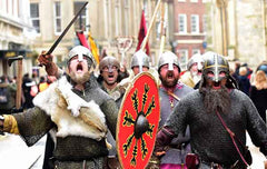 Jorvik Viking Festival 2018 - York, England, UK