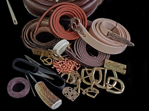 Viking Leather Craft Supplies From The Viking Dragon