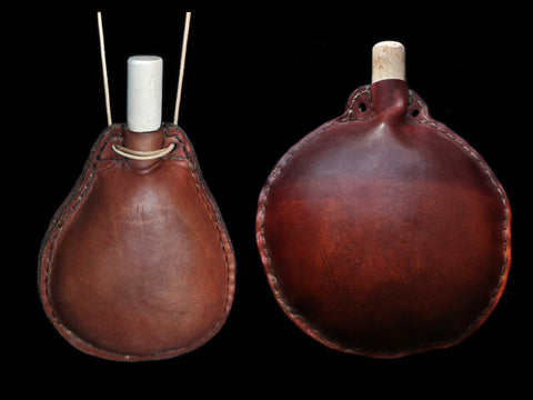 Replica Handmade Leather Water Bottles - Viking Accessories