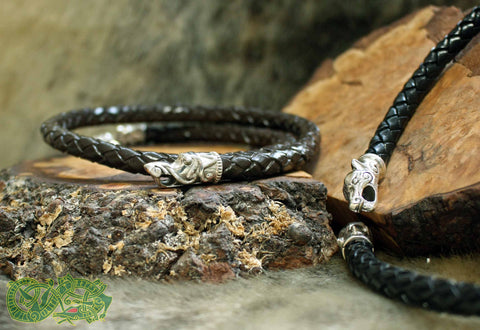 Braided Leather Viking Necklaces - Viking Jewelry Accessories