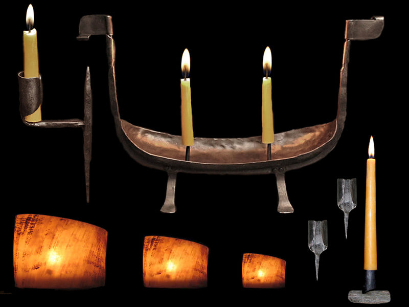 Viking & Medieval Lamps Candles & Candle Holders From The Viking Dragon