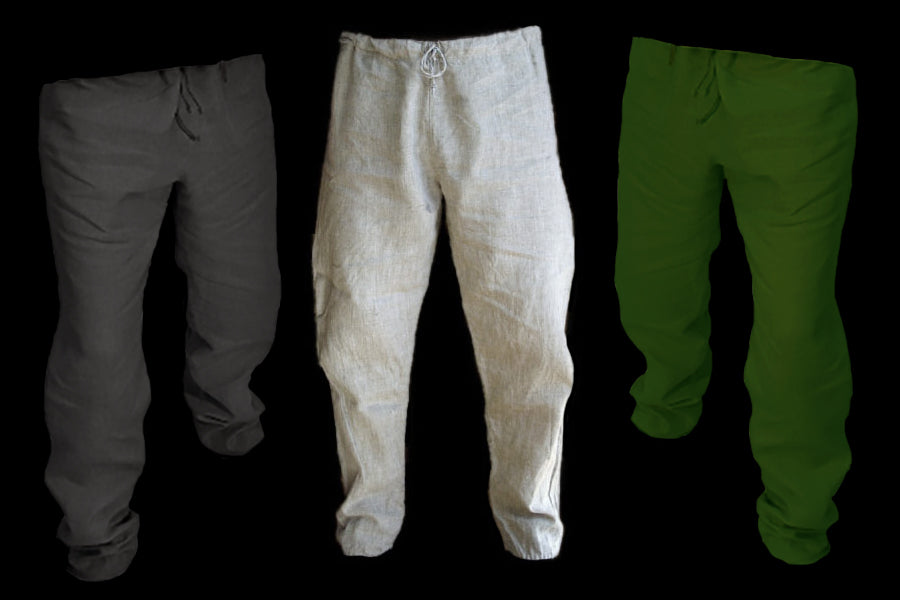 Replica Viking Linen Trousers - Men's Viking Clothing