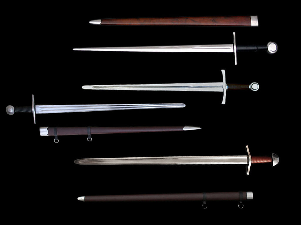 Battle Ready Re-Enactment Medieval & Norman Swords - Weapons
