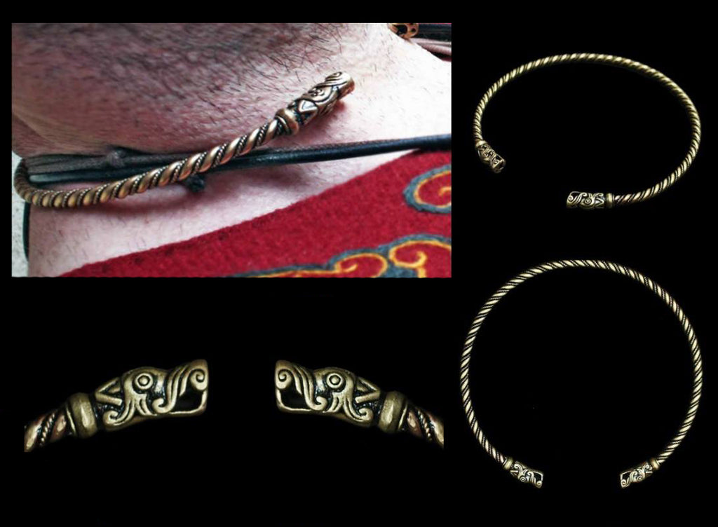 Viking Neck Rings / Torcs / Torques - Viking Jewelry