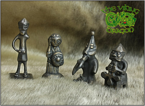Norse God Statues from The Viking Dragon - Asatru Norse Religion