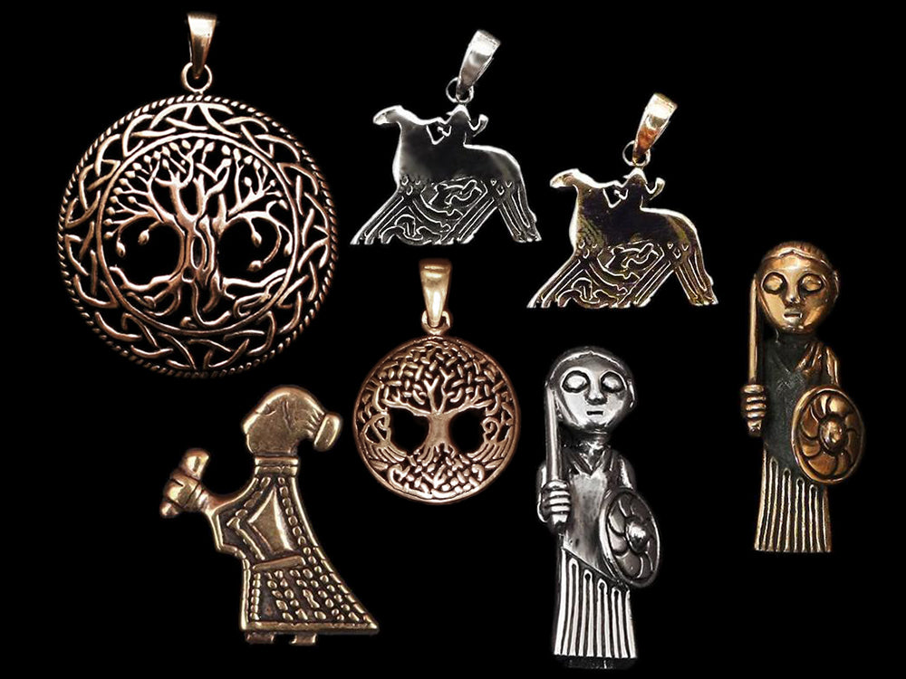 Norse Mythology Pendants - Viking Jewelry