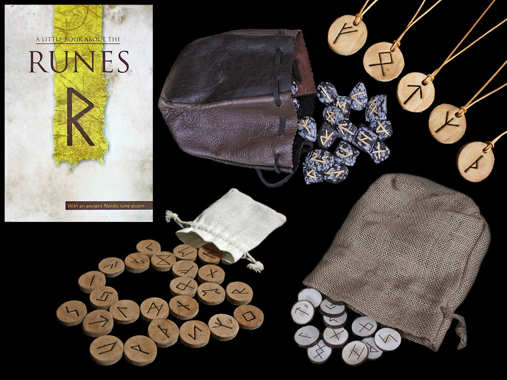 Elder Futhark Rune Sets & Rune Books - Asatru Norse Religion Supplies